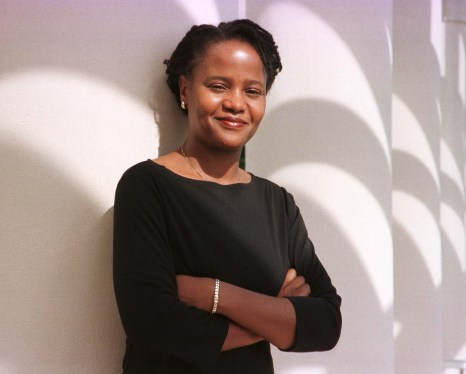 "FOR USE WITH STORY-ARTS-DANTICAT-Writing about the life and history of her homeland, 29-year-old Haitian-born author Edwidge Danticant, shown December 2, is riding high with reviewers having praised her latest book ""The Farming of Bones"" which is a story based on the 1937 slaughter of 30,000 Haitians living in border towns ordered by Domincan Republic dictator Rafael Trujillo, as her best to date. Danicat's popularity was catapulted onto the New York Times bestseller list after her first book ""Breath Eyes Memory"" was praised on the Oprah Winfrey talk show. CB/KM - RTRJYR3"